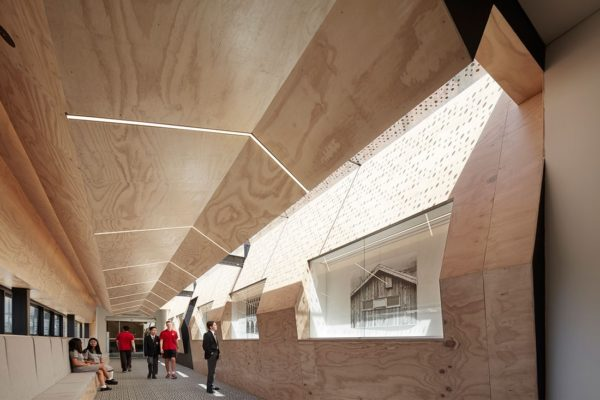 College Flyover Gallery, Caroline Chisholm by Branch Studio Architects. Photo by Peter Clarke.
