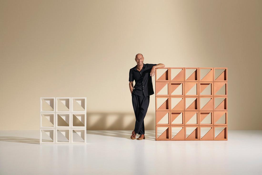 Brickworks x Adam Goodrum bring back the breeze block
