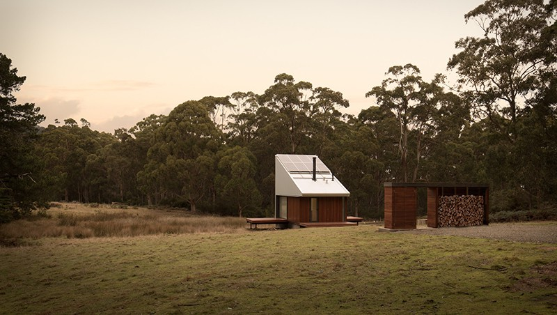 Bruny Island Hideaway by Maguire + Devine Architects. Sustainable Category. Photo by Rob Maver.