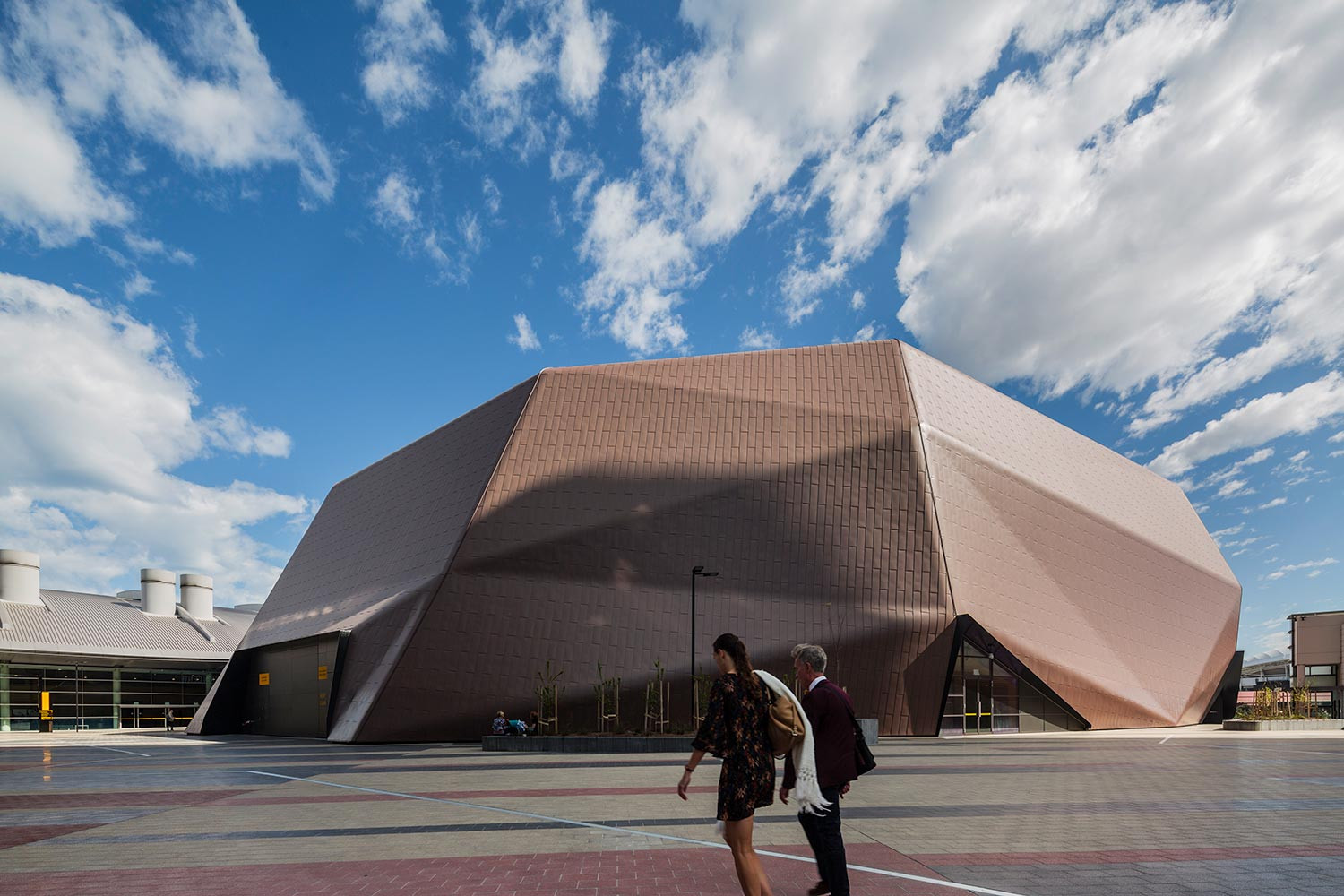 Adelaide Convention Centre Redevelopment: East Building by Woods Bagot. Photo by Trevor Mein.