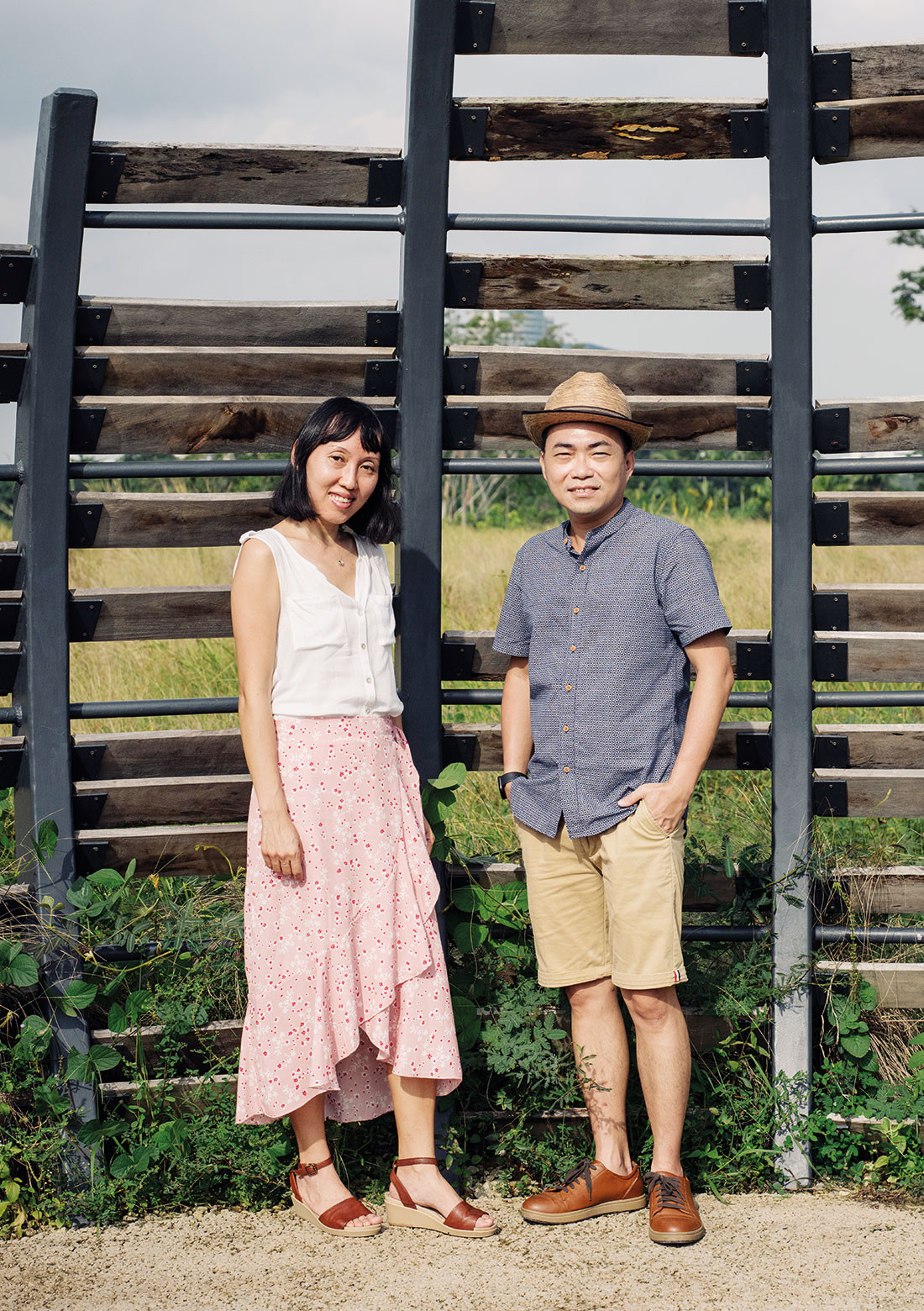 Husband-and-wife team Dr Chong Keng Hua and Kang Fong Ing seek out ways to activate often-overlooked spaces with the intention of building and enriching communities.