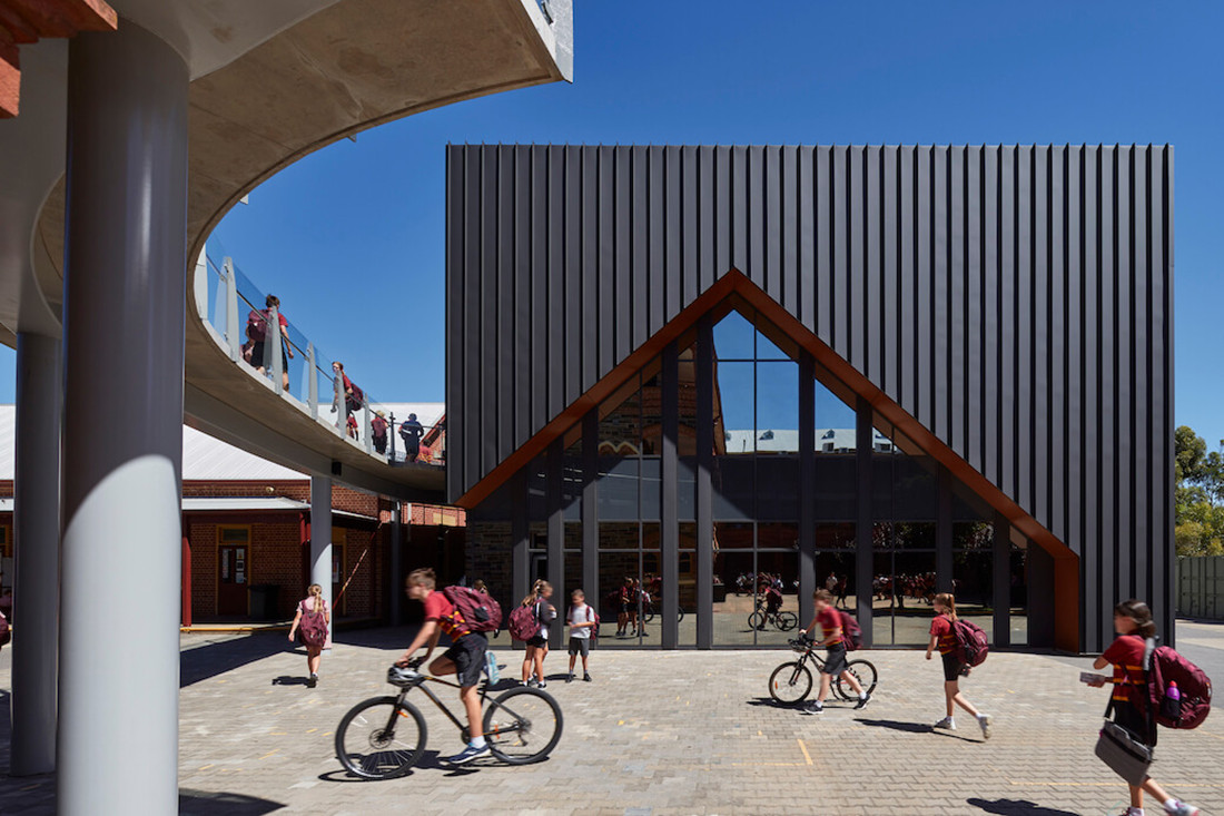 Therese Sweeny Music Centre at Cabra Dominican College designed by Russell and Yelland
