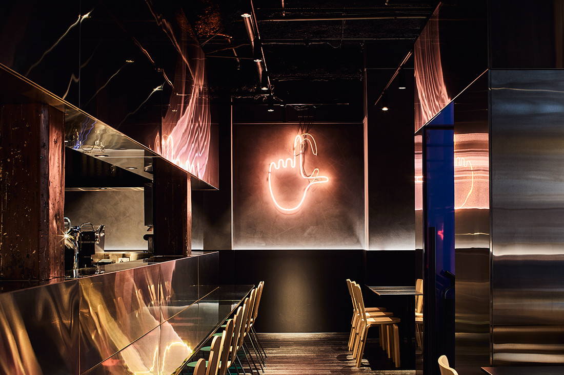 Hassell's Café Lafayette puts theatre on a plate