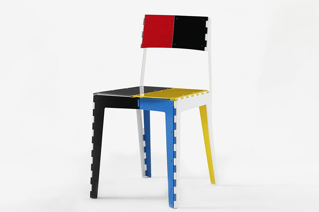 Cappellini Stitch Chair by Adam Goodrum.