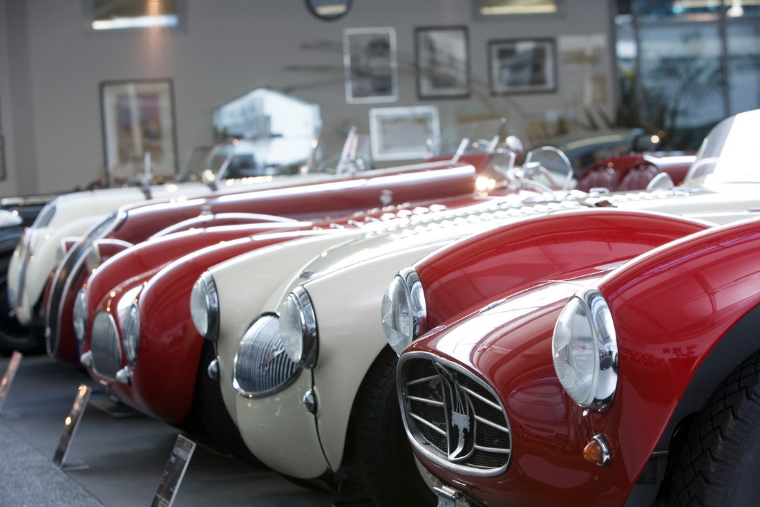 A selection of the classic car collection of Friedrich-Wilhelm Dauphin