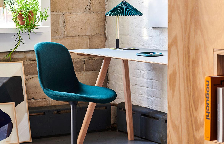 Copenhague Desk Green Chair