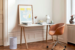 Copenhague Off White Top Desk Office Residential