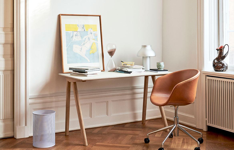 Copenhague Off White Top Desk Office Residential