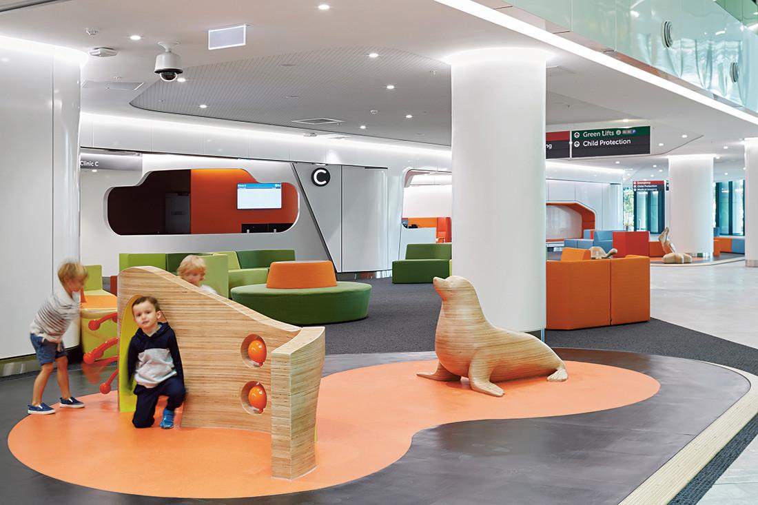Perth Children S Hospital By Jcy Cox Billard Leece Partnership And Hks Indesignlive