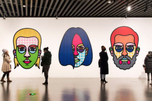 Craig & Karl Triptych, 2018, at the liu Haisu Art Museum, Shanghai.