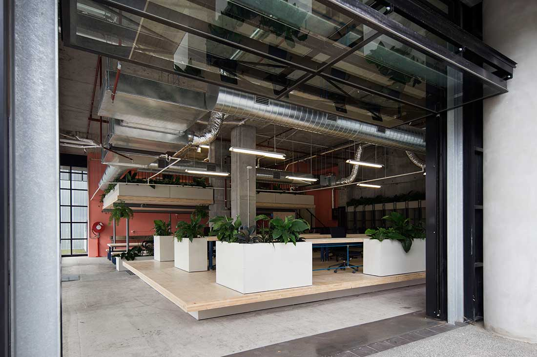 Creative spaces melbourne by archier for Melbourne space design