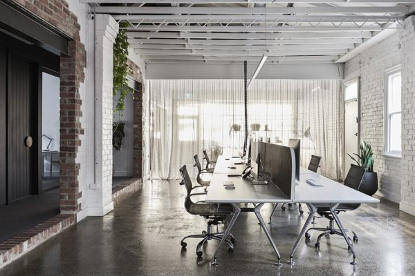 Dan Webster and Nathan Burkett have created a shared office space.