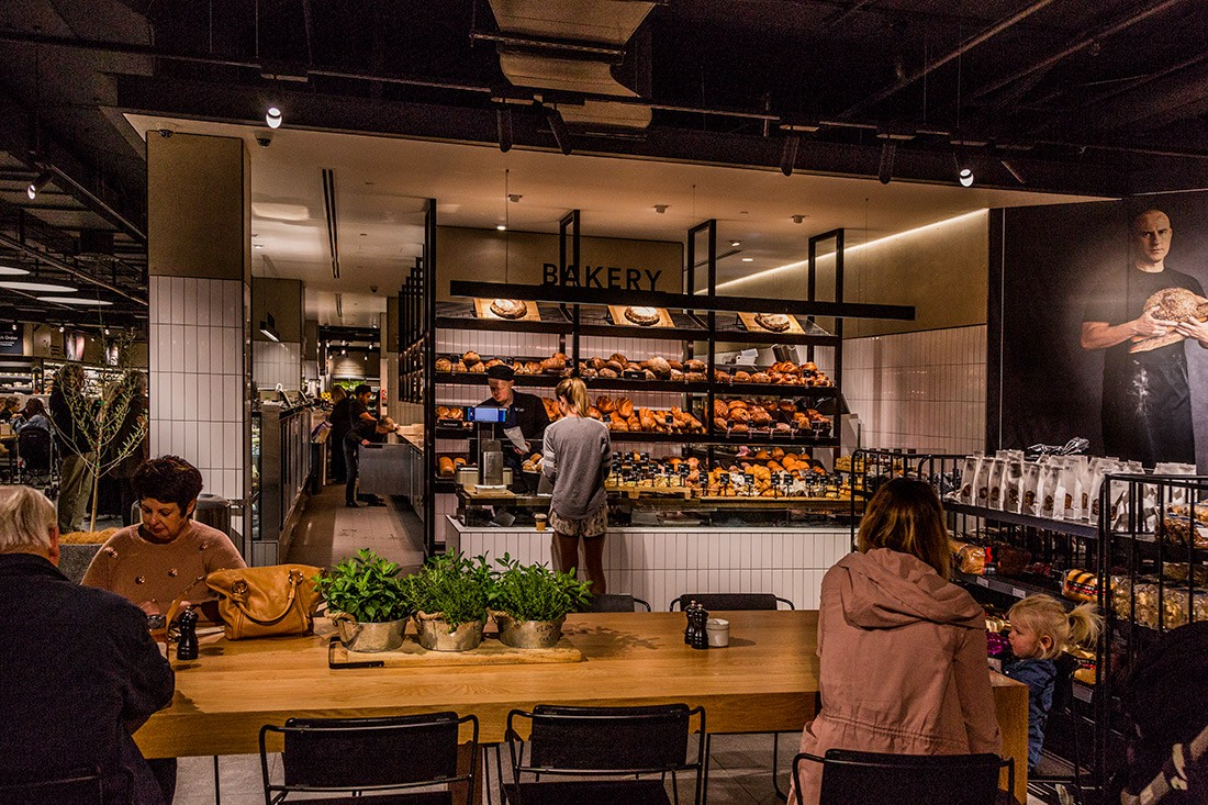 David Jones Food Hall. Photo by Trevor Mein.