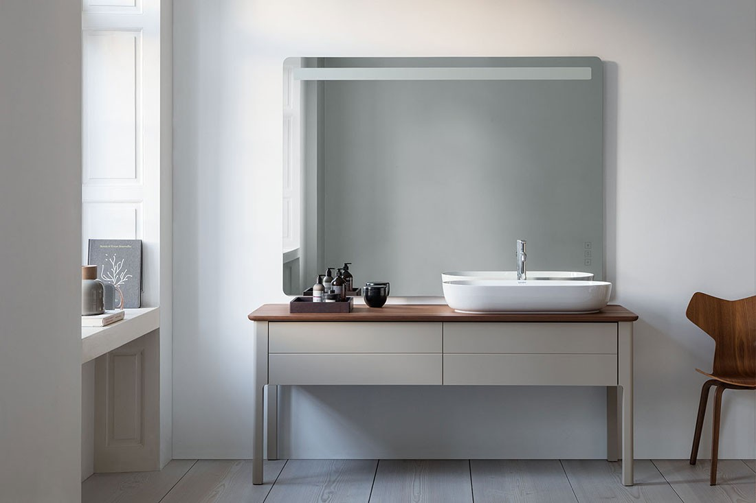 Duravit brings Nordic elegance with the Luv bathroom series ...
