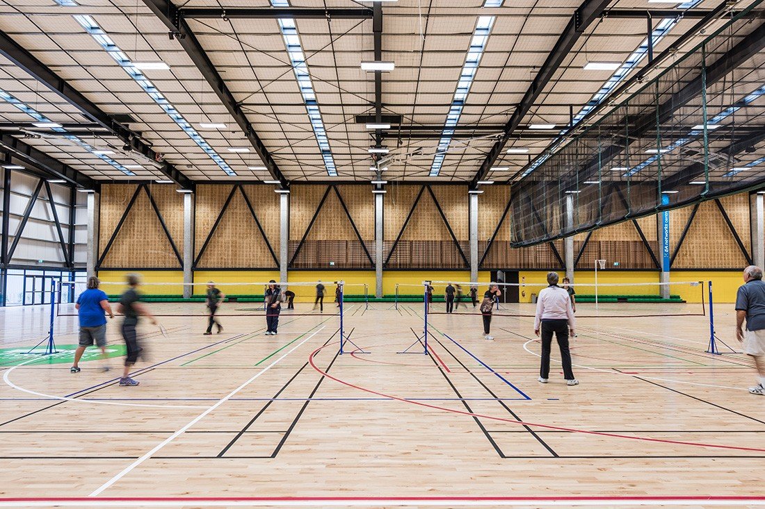 EA Networks Centre – Indoor courts.