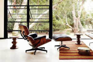Eames lounge, designer furniture