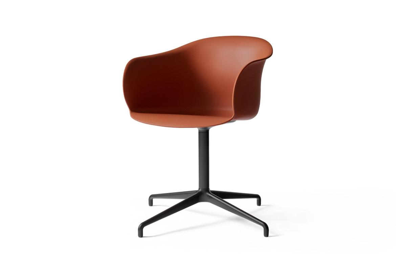 Elefy Chair Burnt Orange Red
