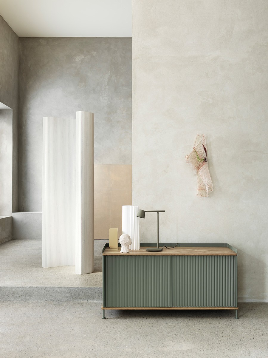 Enfold Sideboard, designed by Thomas Bentzen for Muuto.