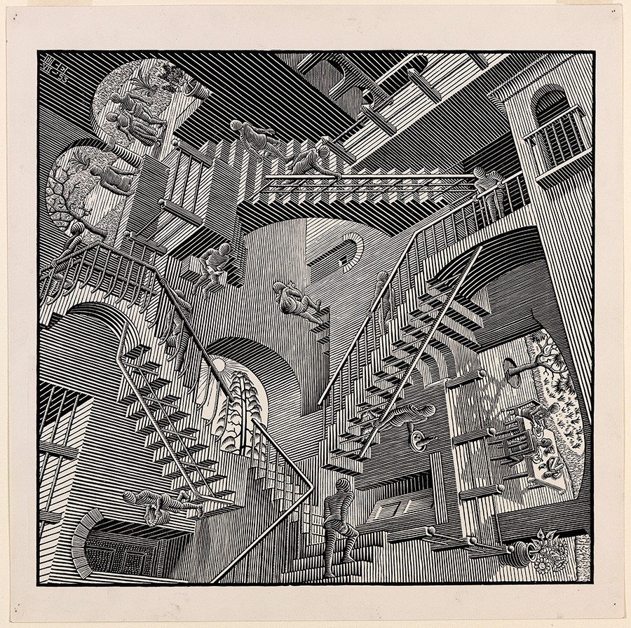 The exhibition will showcase the largest collection of Escher's work in Australia.