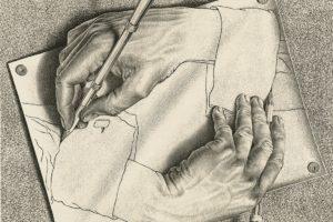 Escher and nendo exhibition set for the NGV