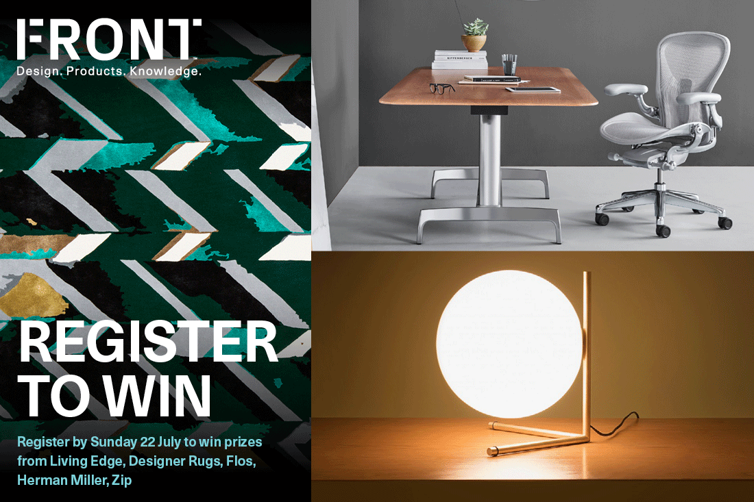 Are you in the running for this design super draw? Register for FRONT now to win. 48 hours left!