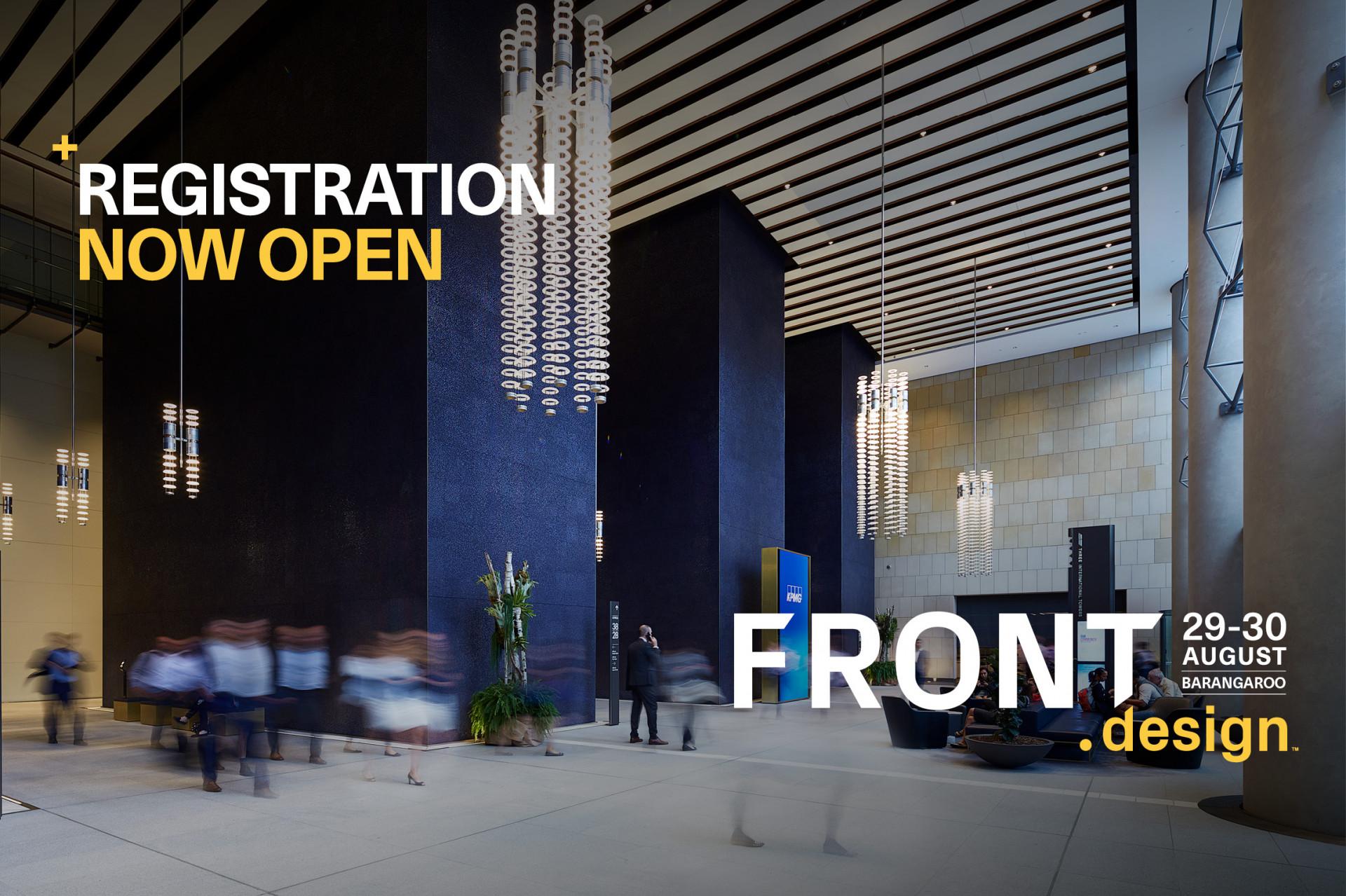 Register now for FRONT.design 2019