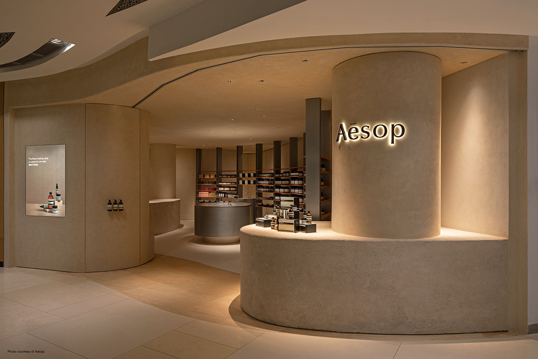 FARM returns to origins for its design of Aesop's new store