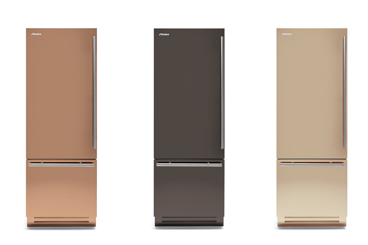 Applied style: New matte-metallic finishes by FHIABA