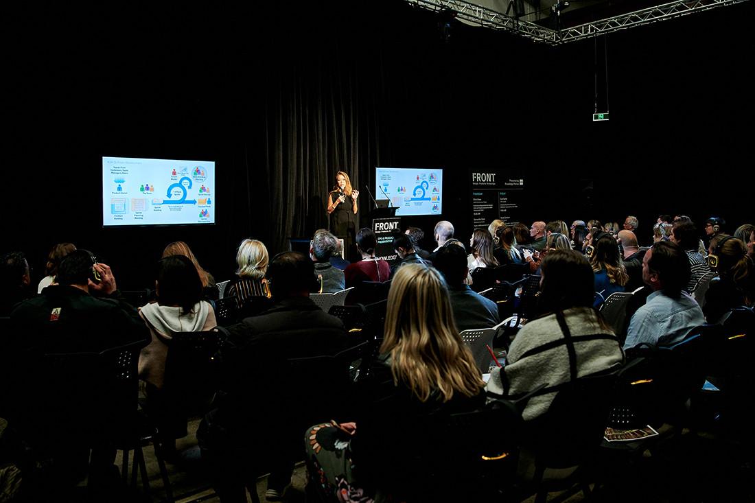 The FRONT.design Forum topics will inspire