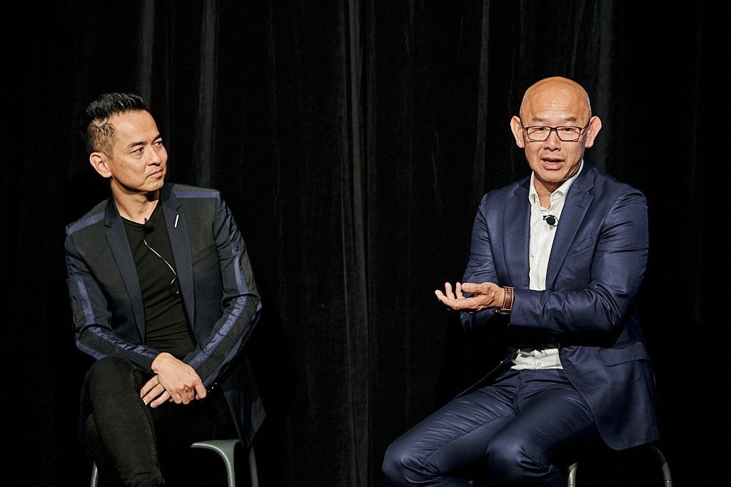 Crown Group's Iwan Sunito in conversation with Koichi Takada.