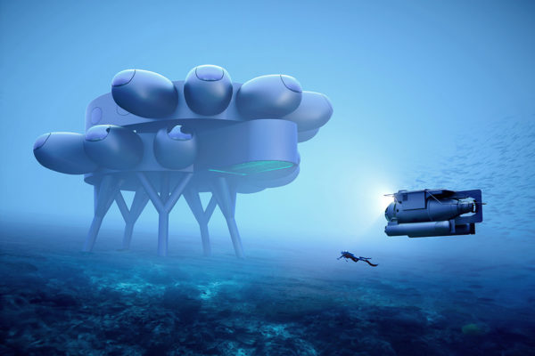 Fabien Cousteau's PROTEUS ™. Concept designs by Yves Béhar and fuseproject.