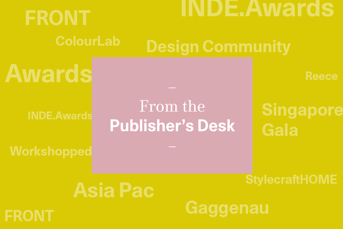 Design community in action: From the Founder's desk in May & June
