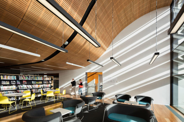 Frank Bartlett Library & Service Centre by FJMT
