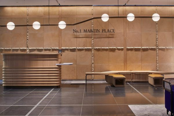 1 Martin Place by Siren Design and Graphite.