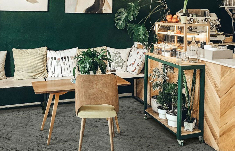 Grey Coffee Shop