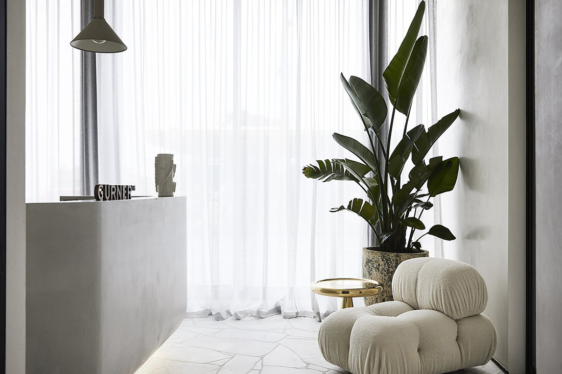 Gurner office, designed by Powell & Glenn. Photo: Sharyn Cairns.