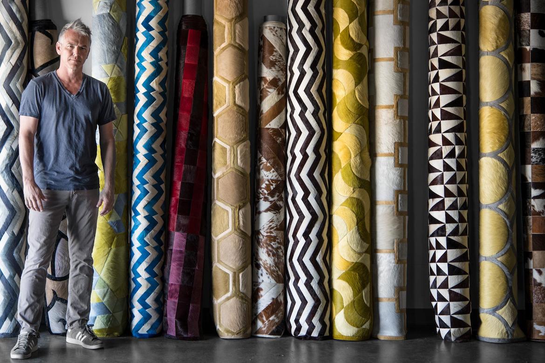 """A work of art"" – Colourful hide rugs hit Australia"