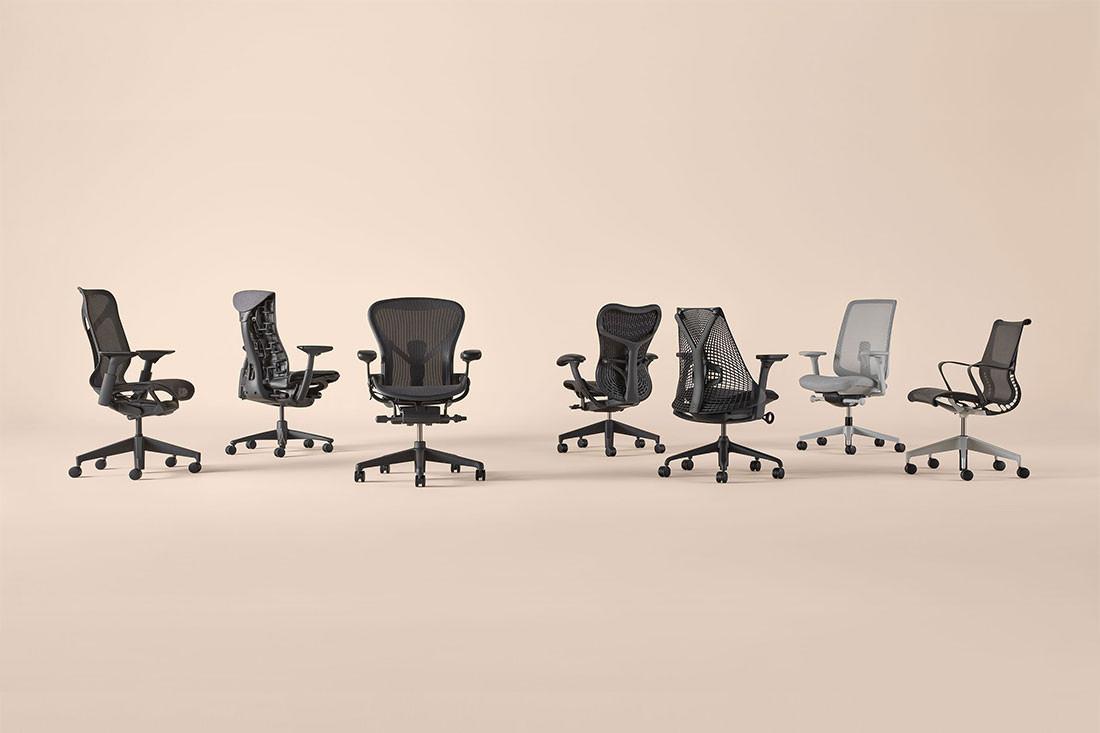 Get comfortable with Herman Miller's versatile performance seating