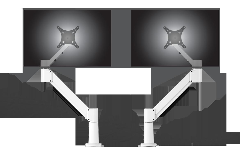7045/7045 Twin Monitor Arm 1