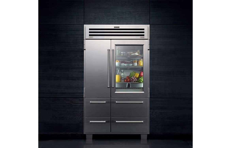 ICB648PROG Silver Refrigerator Freezer
