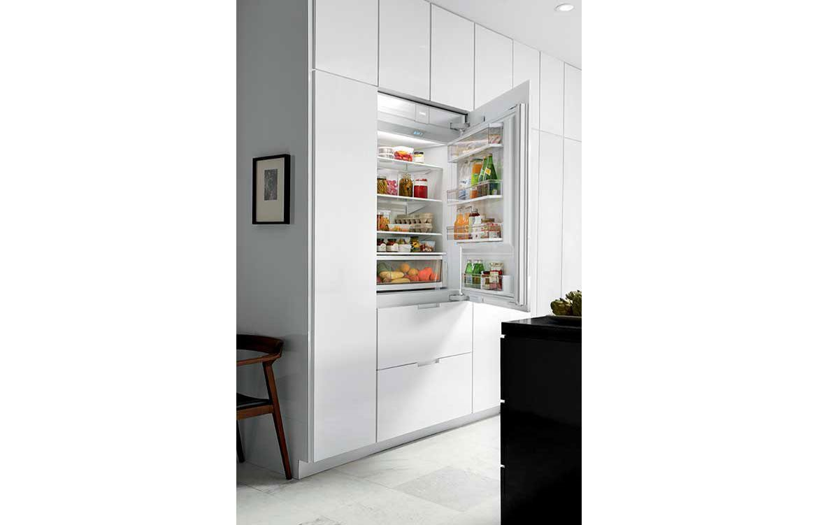 ICBIT-36CIID Integrated Refrigerator with Freezer Drawers 4