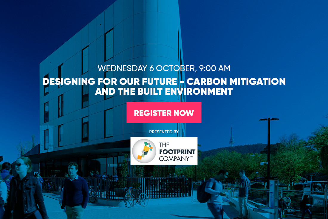 Designing for Our Future – Carbon Mitigation and the Built Environment