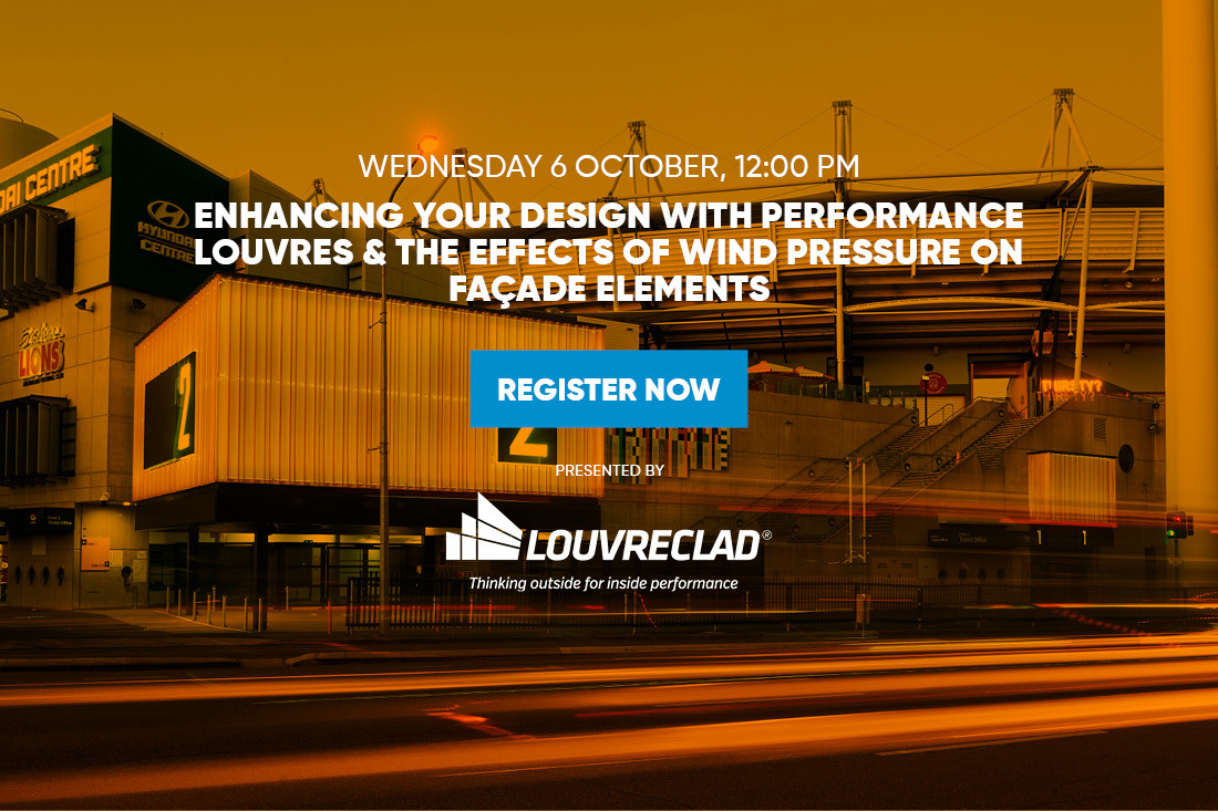 Enhancing your Design with Performance Louvres & The Effects of Wind Pressure on Façade Elements