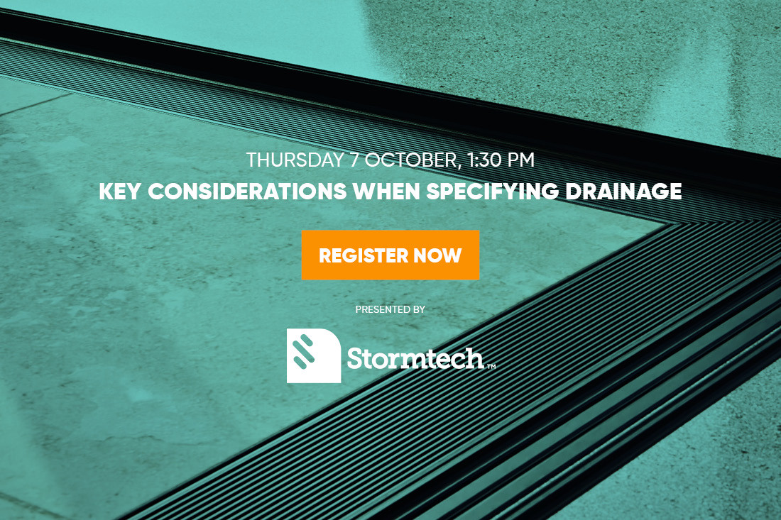 Key Considerations when Specifying Drainage