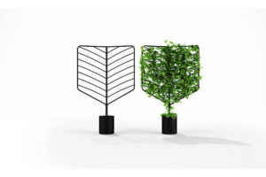 Botanical Planter Screen