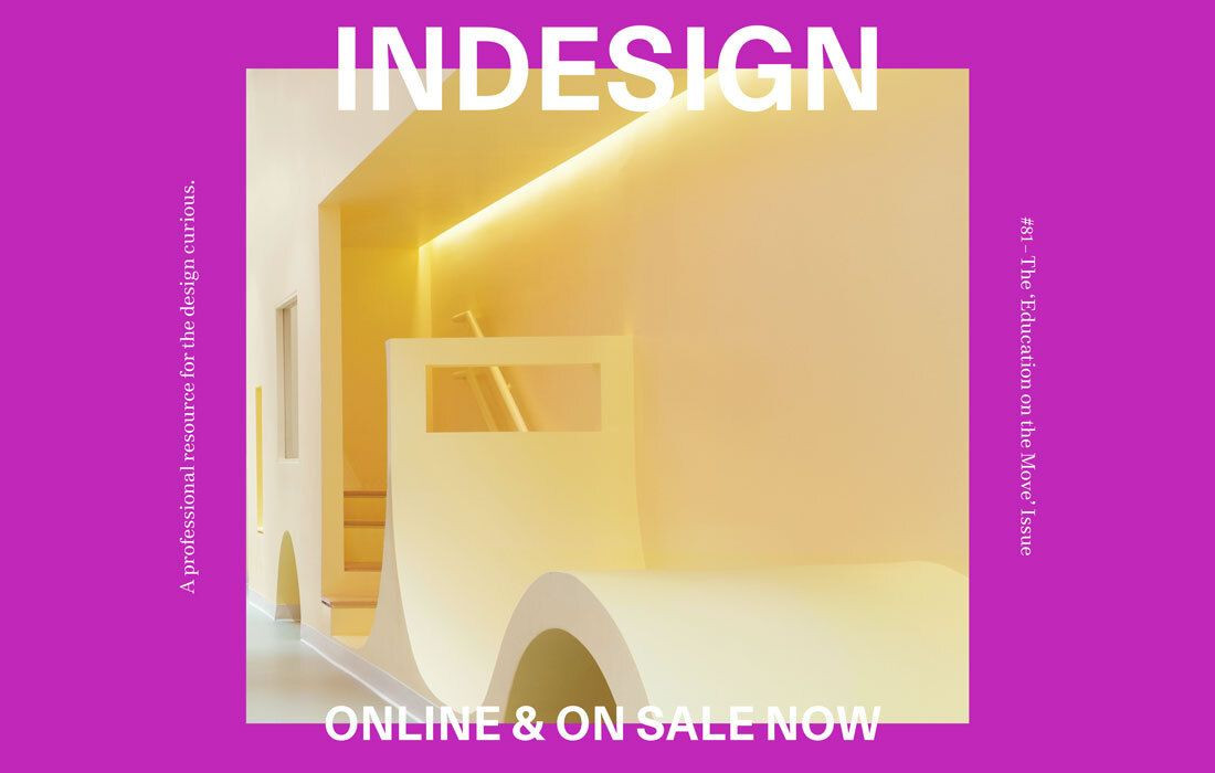 The latest issue of Indesign is here, online and FREE!