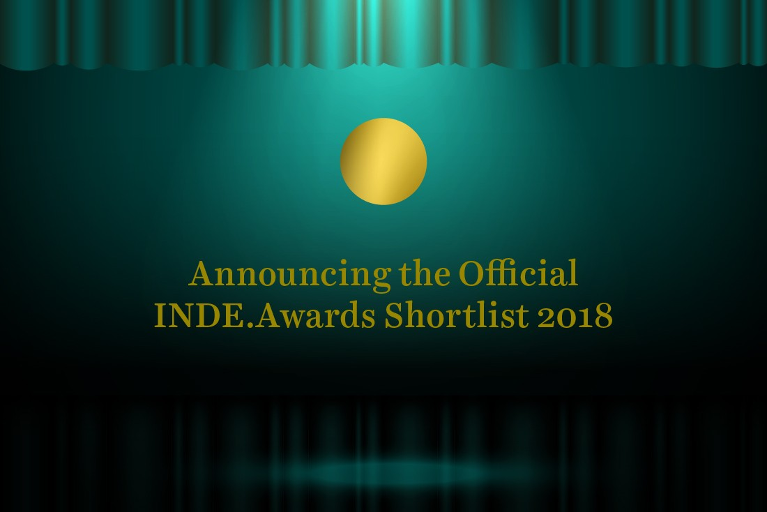 Announcing… Your official INDE.Awards 2018 shortlist