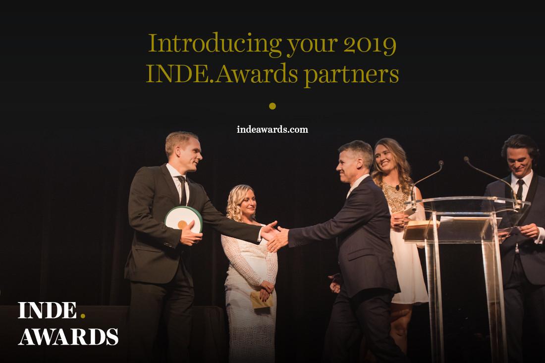 Introducing your 2019 INDE.Awards partners