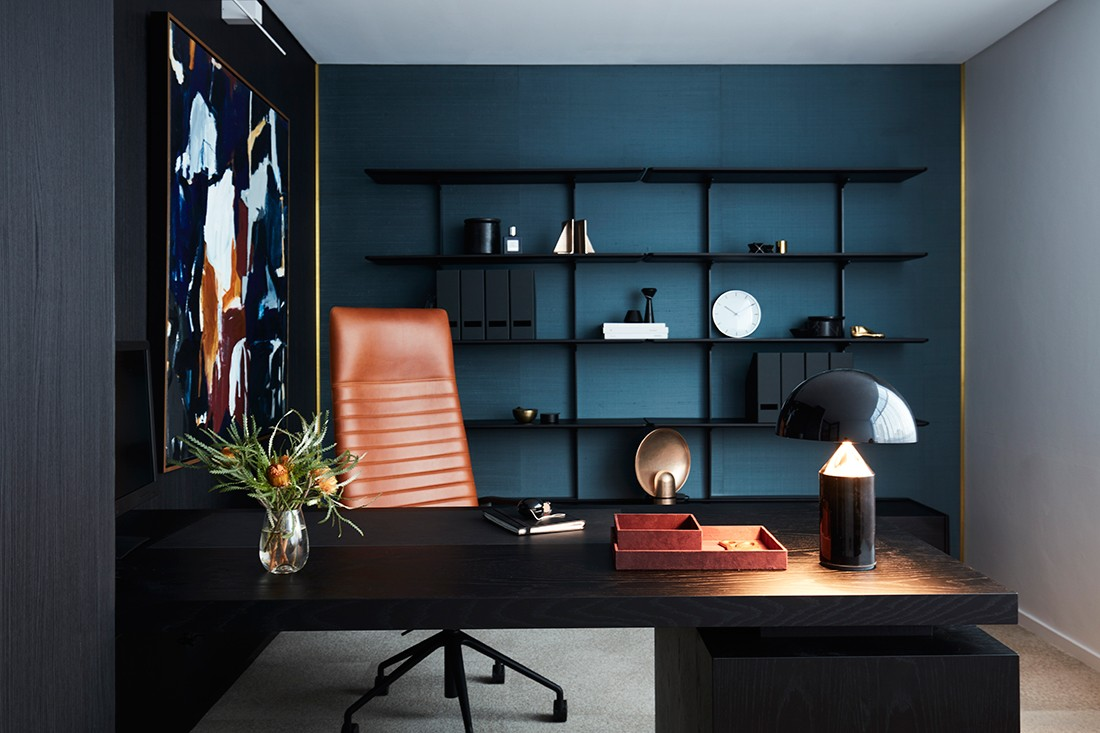 A Luxury Office That Feels More Like A High End Home Indesignlive