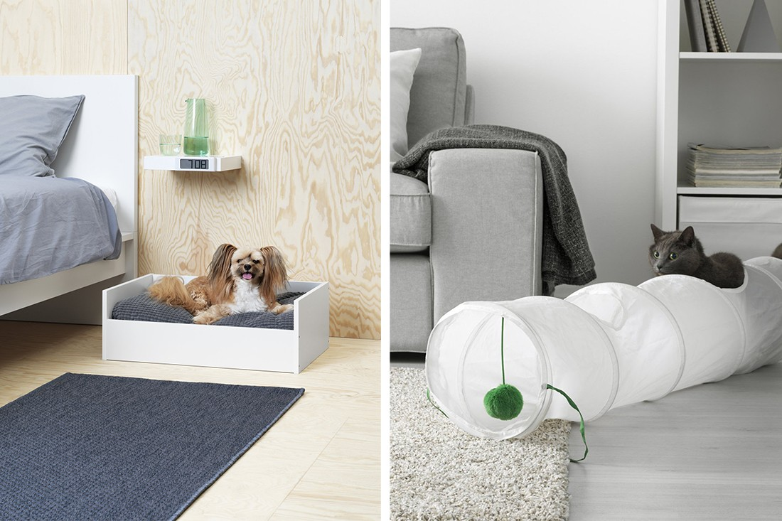 ikea launches pets collection lurvig for cats and dogs indesignlive. Black Bedroom Furniture Sets. Home Design Ideas
